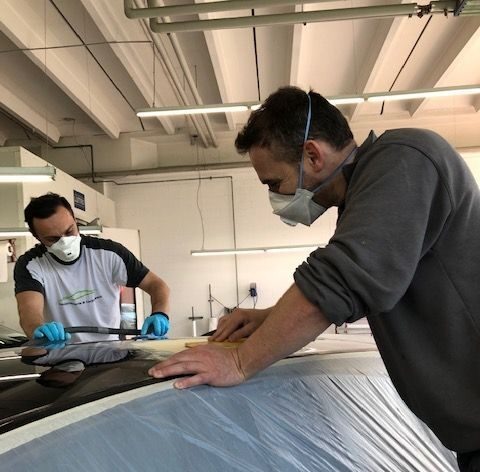 Lossi Carrosserie & Lackierwerk: Wir lackieren, polieren und spritzen Ihr Fahrzeug